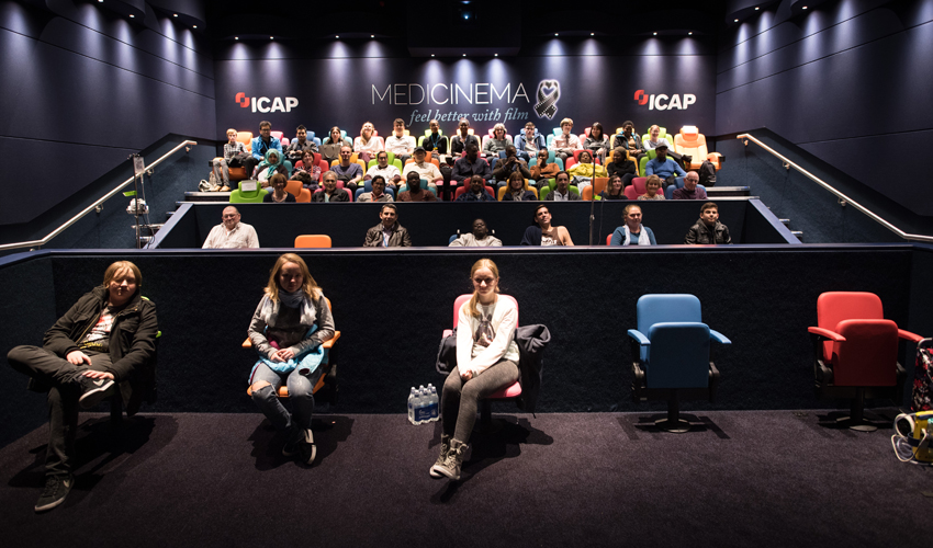 Visits to the silver screen for patients