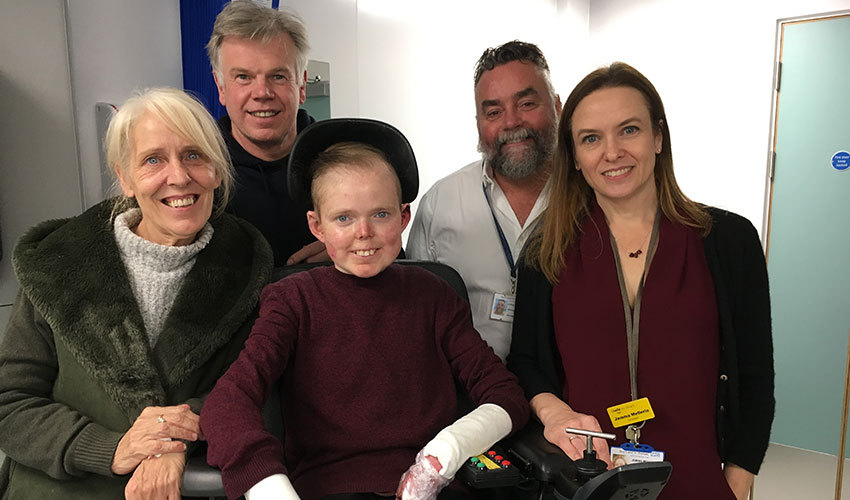 New Rare Disease Centre offers hope to patients from across the UK