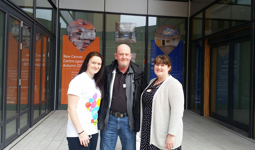Sisters support the Cancer Centre for Dad